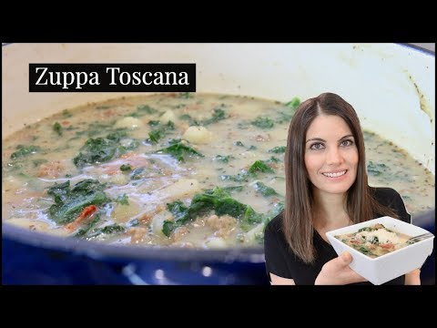 One Pot Meal | Zuppa Toscana Olive Garden Copycat Recipe