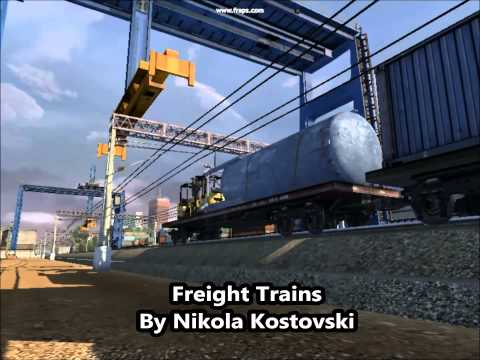 Freight Trains By Nikola Kostovski