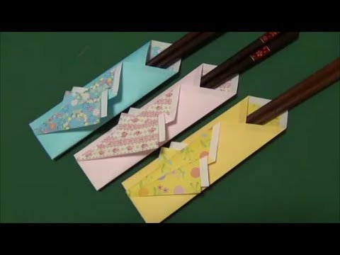 Accessory Tutorial - 023 -- Chopstick Envelope