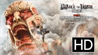 Nonton Attack on Titan (Live Action Movie) - Official Theatrical Trailer Film Subtitle Indonesia Streaming Movie Download