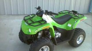 9. Review: 2012 Arctic Cat 90 Youth ATV with reverse!