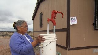 In this corner of the Navajo Nation, just 100 miles west of Albuquerque, N.M., an estimated 40 percent of residents don't have access to running water.