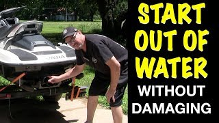 10. How To Start a Honda Jet Ski Out of Water Without Damaging It