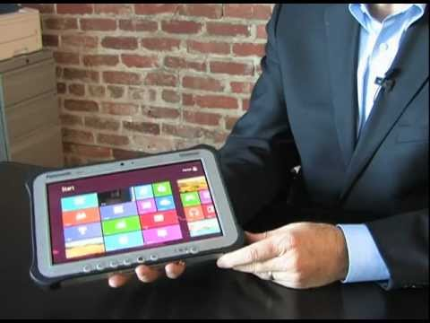 Panasonic Toughpad FZ-G1 – Rugged Windows 8 Tablet