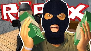 Roblox | ROBBING A BANK! | THE GRAND ESCAPE!