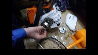 Как сделать насадку на бензопилу своими руками