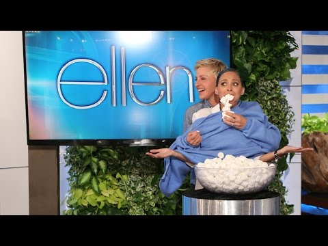 The Ellen Show - No one has ever shoved more marshmallows in an Ellen show guest's face than Ellen did with Nicole Richie. Seriously. It's a record.