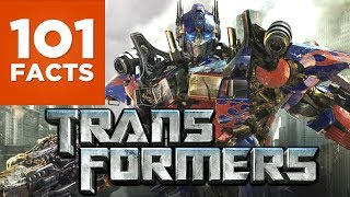 Do you love explosions, mega morphing machine and fairly weak storytelling, then you're in the right place! Well, we're not going to tell any weak stories, but we are going to give you 101 of the most spectacular facts about the Transformers franchise! Enjoy. Subscribe to 101 Facts Here: http://bit.ly/1MtNBJDFollow 101 Facts on Twitter: https://twitter.com/101Facts1