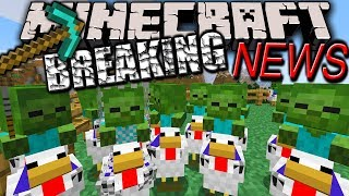 Minecraft 1.7.5 Release! 1.8&1.7.6 News - Better Skins, Name Change, Realms, Chicken Jockey PE