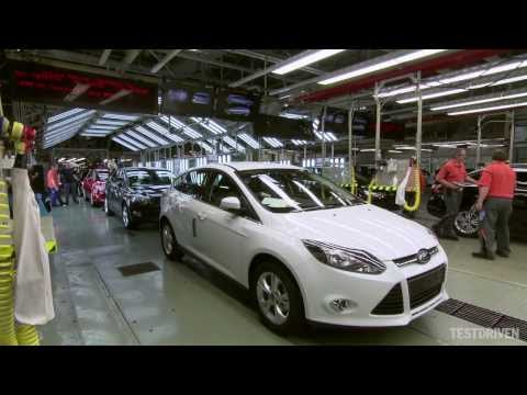 production - Ford Focus Production at Saarlouis, Germany.