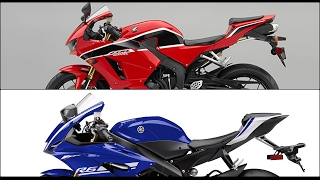 4. Comparison 2017| Honda CBR600RR vs Yamaha R6 |Specs & Photo Compilation