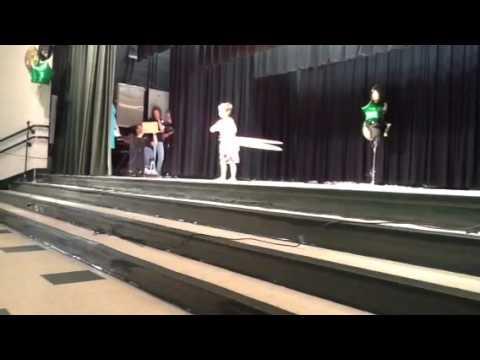 Kevin Decker Pine Ridge Has Talent Hula-Hooping