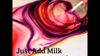 Just Add Milk science activity kit demonstration by Griddly Games