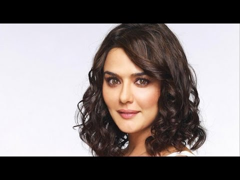 Preity Promoting Her Upcoming Movie