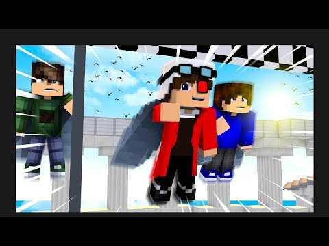 БЕШЕНЫЕ ГОНКИ НА ЭЛИТРАХ! Minecraft Wing Rush