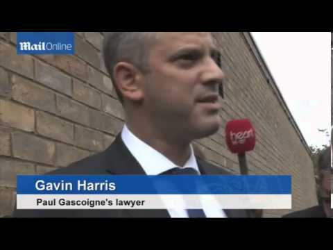 STATEMENT Gazza fined £1,000 for drunken assault on train guard