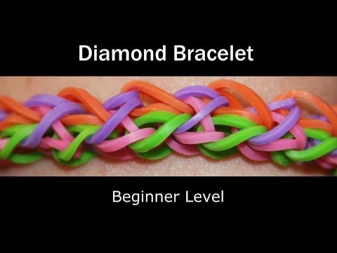 Rainbow Loom® Diamond Bracelet