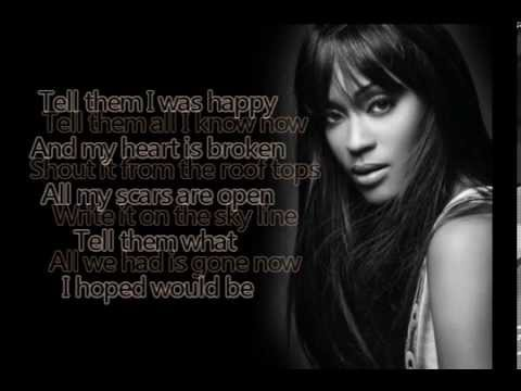 Shontelle - Impossible (Lyrics)