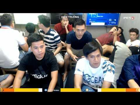 PES League 2v2 | Tứ Kết | [OS] Tính Conan + [WE1] Duy Trần vs [MYM] Wawa + Tây Báo 24-12-17