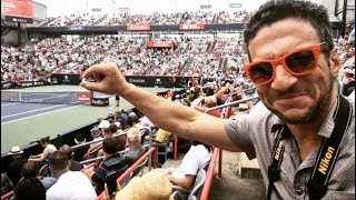 I got tickets to my first ever tennis match - basically front row seats to the Federer / Ferrer match at the Rogers Cup in Montreal,...