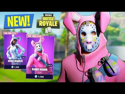 New Rabbit Raider Gameplay Fortnite Battle Royale Rabbit Raider Win