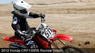 6. MotoUSA Review:  2012 Honda CRF150RB
