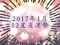 花兒占星 - 2017年1月 12星座運勢