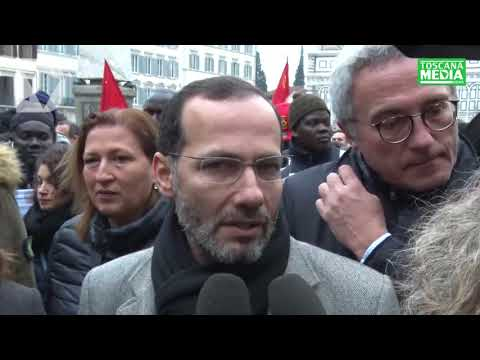 IZEDDIN ELZIR SU MANIFESTAZIONE SENEGALESI - dichiarazione