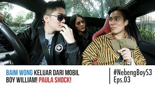 Video Baim Wong keluar dari mobil Boy William! Paula Shock! - #NebengBoy S3 Eps. 03 MP3, 3GP, MP4, WEBM, AVI, FLV April 2019