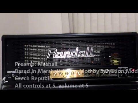 Randall RM100 Demo - Jaded Faith, Salvation and Rockcity Mods
