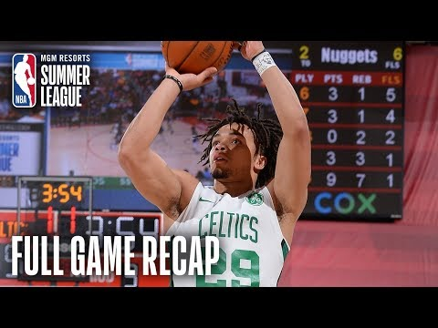 Video: NUGGETS vs CELTICS | Carsen Edwards Shines Again For Boston | MGM Resorts NBA Summer League