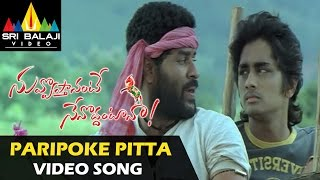 Video Nuvvostanante Nenoddantana Video Songs | Paripoke Pitta Video Song | Siddharth download in MP3, 3GP, MP4, WEBM, AVI, FLV January 2017