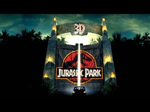 FilmsActuTrailers - Jurassic Park 3D Official Trailer. In 3D and Imax 3D on April 2012. Steven Spielberg's classic blockbuster is back on big screens ! Join us on Facebook & Twi...
