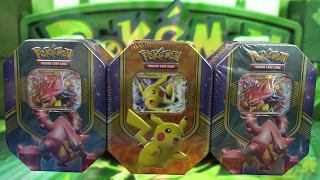 Opening 3 Battle Heart Tins of Pokemon Cards! by The Pokémon Evolutionaries