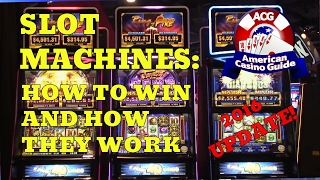 """American Casino Guide author, Steve Bourie, interviews Mike Trask from Ainsworth Game Technology to get an update on whether or not  anything has changed in how slot machines work since our original """"how to win on slot machines"""" video was released in 2009. Topics covered include how widespread server-based gaming has become; how """"must hit by"""" slots work; whether or not pick'em bonus rounds are pre-determined, plus more.Play FREE social casino slots -  http://www.americancasinoguide.com/play-free-slots These slots are only for fun and no money is involved. All new players get FREE BONUS CHIPS!Get more than 200 casino coupons and save more than $1,000 - http://www.americancasinoguide.com/or...  SUBSCRIBE for more videos: http://bit.ly/1G4l0xv Tips on Blackjack: http://y2u.be/5ki_92QrqfITips on Slot Machines: http://y2u.be/7Wkubf1PrWgTips on Craps: http://y2u.be/7daSiVupvmYTips on Video Poker: http://y2u.be/gLYQ3ZIowPAFor the latest news and insights on casinos visit: http://blog.888casino.com/"""