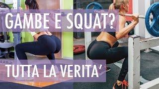 squat glutei donne