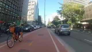 Vídeo Ciclovia da Paulista