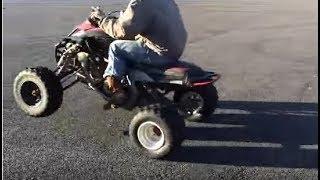 8. Last Ride: 2013 Yamaha Raptor 700R Acceleration