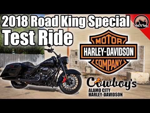 HARLEY-DAVIDSON FLHRXS ROAD KING SPECIAL 107 CI