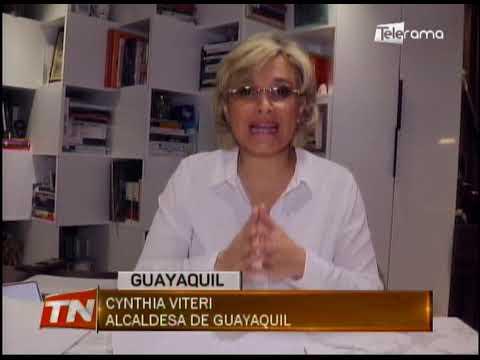 Cynthia Viteri Alcaldesa de Guayaquil