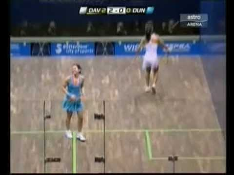 2011 World Championships Squash Final -Nicol David.