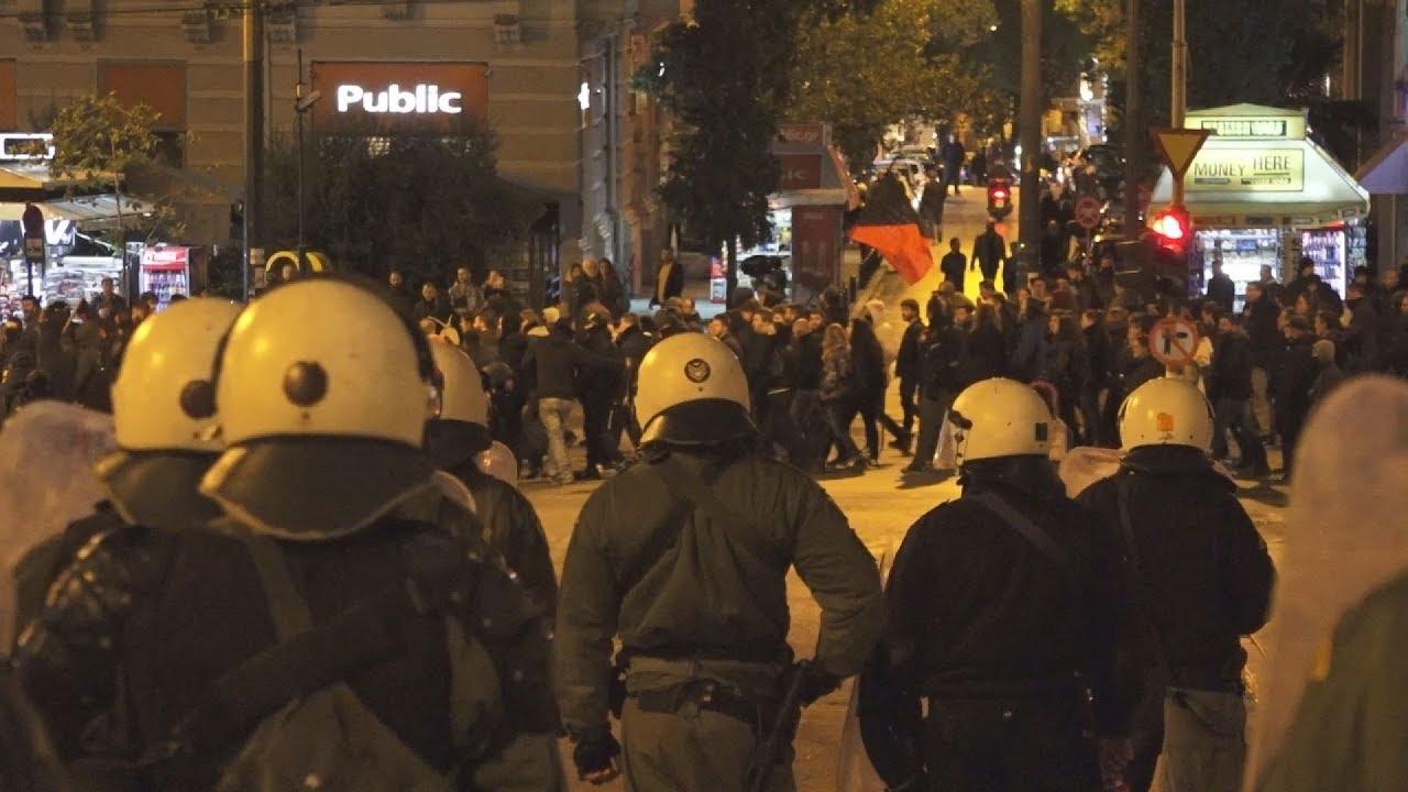 Διαδήλωση για τα 9 χρόνια από την δολοφονία Γρηγορόπουλου