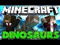 BEGINNING Minecraft Dinosaurs Modded Adventure w/ Mitch #1