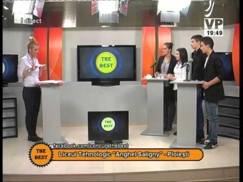 Preselecții The Best – 21 octombrie 2014 (III) – Liceul Tehnologic Anghel Saligny Ploiești