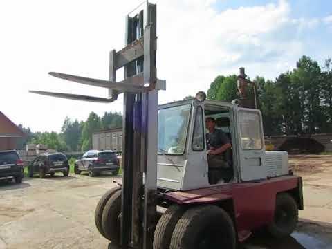 Видео Погрузчик вилочный 5 тонн Львовский