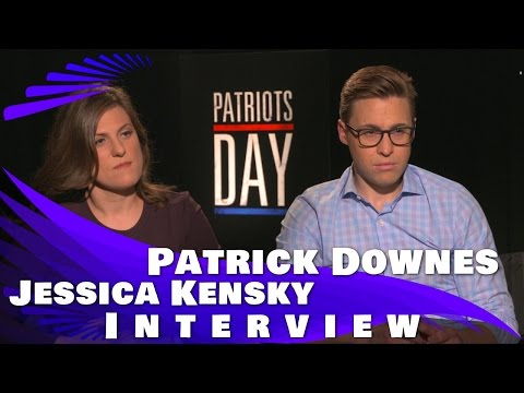 "Patrick Downes and Jessica Kensky Interview on ""Patriots Day"" And Movie Review"