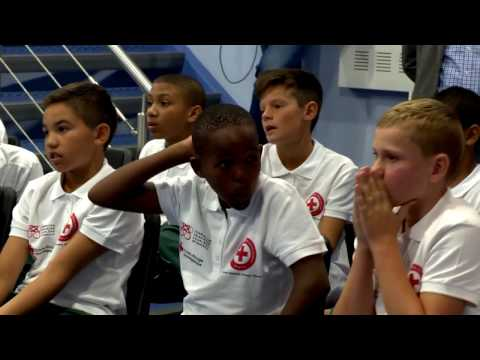 South African and Monegasque young people talk about rugby