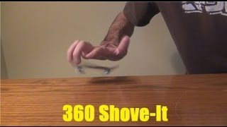 How To 360 Shove-It
