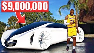 Video 12 Items LeBron James Owns That Cost More Than Your Life... MP3, 3GP, MP4, WEBM, AVI, FLV November 2018