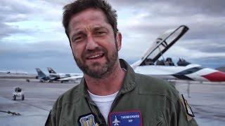 Video Gerard Butler Flies With The U.S. Air Force Thunderbirds MP3, 3GP, MP4, WEBM, AVI, FLV Agustus 2018
